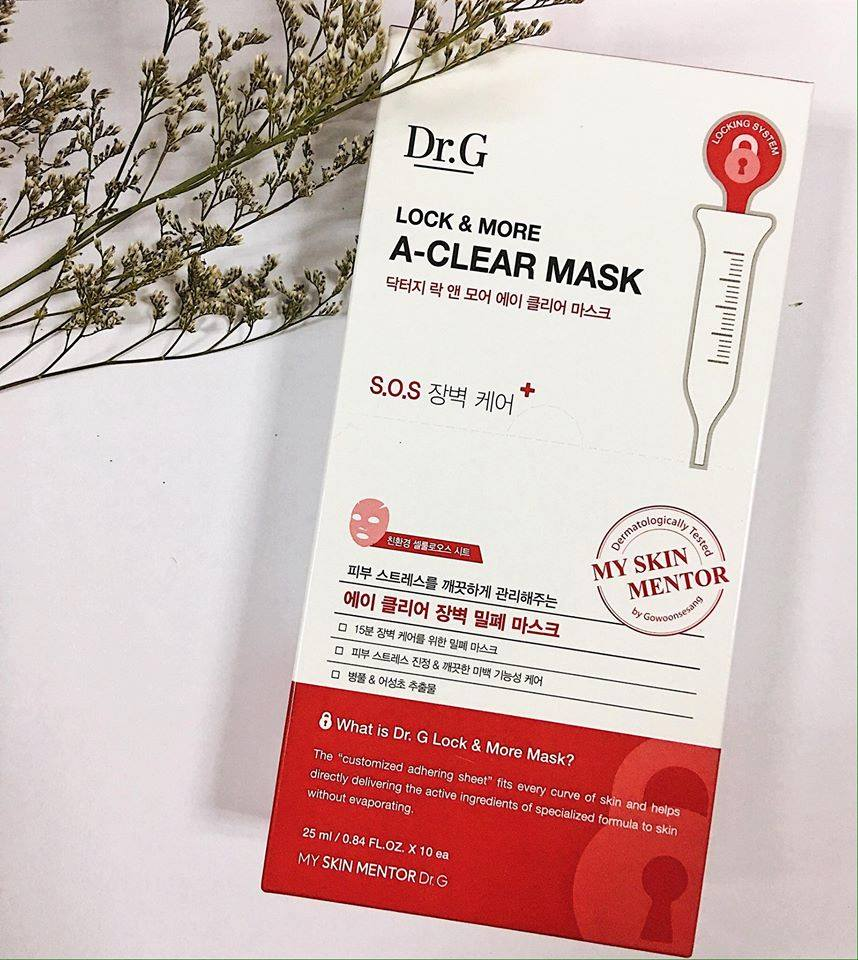 Mặt nạ Dr.G Lock & More A-Clear - CShop Cosmetics